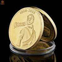 "Gold Plated Margaret Thatcher /""The Iron Lady/"" Commemorative Coin w// Acrylic Case"