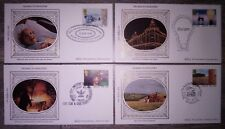 1986 Set of 4 Industry Year first day covers
