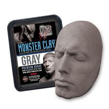 Monster Clay Premium Grade Modeling Clay - Gray - Medium - (4.5lb Tub)