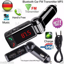 Wireless Bluetooth FM Transmitter Radio Car Kit MP3 Musik Player LCD USB Charger