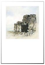 Seaside Rocks Print only Image size 25 x 25cm, Paper size 33 x 48cm