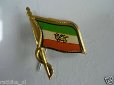 PINS,SPELDJES 50'S/60'S COUNTRY FLAGS 40 IRAN VINTAGE VERY OLD VLAG
