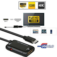 Type C to HDMI Adapter USB 3.1 TV Cable For Android Phone Samsung Tablet