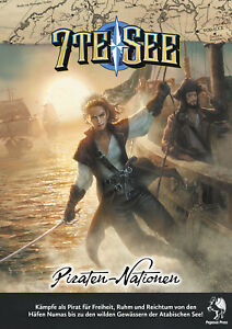 7te See: Piraten-Nationen   Rollenspiel   Pegasus Spiele