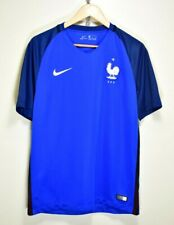 FRANCE 2016 WORLD CUP NIKE HOME FOOTBALL SOCCER SHIRT JERSEY TRICOT size MEDIUM