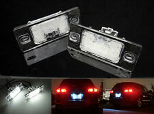 2x Error Free LED For PORSCHE VOLKSWAGEN License Plate Light Kit Cayenne 955 957