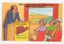 Pier Lecture Sex Problems Bamforth 2043 Comic Postcard 727b