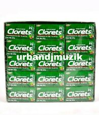 3X CLORETS GUM CHICLE GOMA FRESHING - 3 BOXES 60 PACKETS EA -FREE PRIORITY SHIP