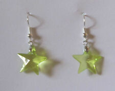 Unbranded Silver Plated Crystal Costume Earrings