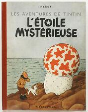 Tintin. L'Etoile mystérieuse. 1942. TBE. A18, grande image. HERGE.