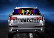 90x25cm Flash Music Rhythm LED Light Lamp Sound Activated Equalizer Car Sticker