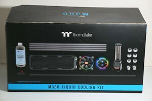 Thermaltake Pacific M360 D5 Res/Pump PETG Hard Tube Water Cooling Kit CL-W217-CU