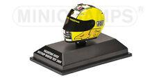 1:8 AGV Minichamps Valentino Rossi Helmet Casco Winter Test 2009 NEW
