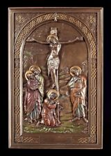 RELIEF MURAL icône - gekreuzigter Jésus - VERONESE Saints Figurine Décoration