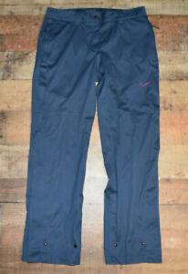 Nike Golf Storm Fit-10 Pants Women's Size Medium 484228 Blue Performance Rain
