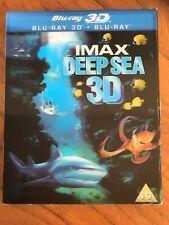 IMAX Deep Sea [Blu-ray 3D + Blu-ray + UV Copy] [2011] [Region Free] - DVD  R4VG