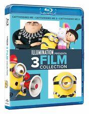 Blu Ray Cattivissimo Me La Trilogia 1-2-3 Collection (Box 3 Blu Ray) ......NUOVO
