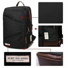 14 Inch Laptop Backpack School Shoulder Mens Travel Business Bag Rucksack Black