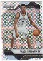 2016-17 Panini Prizm Basketball Starburst Prizm RC #68 Wade Baldwin IV Grizzlies