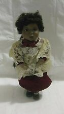 Amazing Grace Le Porcelain Doll From The Heart In Song & Georgetown Collection