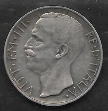 ITALIE 20 Lires Argent Silver TTB VF 1927 KM 68.1