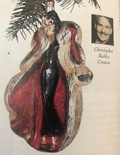 """Disney's """"Cruella De Vil"""" 1996 Christopher Radko Ornament New in Original Box"""