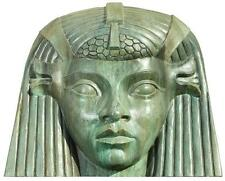 Cleopatra Head of Hathor set piece. Lot 909