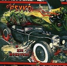 SIR PSYKO & HIS MONSTERS - ZOMBIE ROCK  CD NEW+