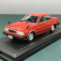 Mini Car Nissan Bluebird 910 HT2000 SSS-X 1982 1/43 Scale Box Display Diecast