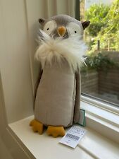 "Brand NEW - Jellycat ""Skandoodle Owl"" - Stuffed Animal Soft Plush Toy - 9"" NWT!"