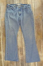 Womens Size 6 Distressed Hollister Jeans Light Blue Faded Torn Cotton