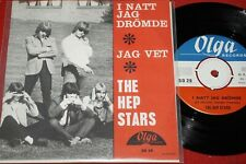 THE HEP STARS feat. BENNY ANDERSSON (ABBA) I Natt Jag.../ Swedish SP OLGA SO 29