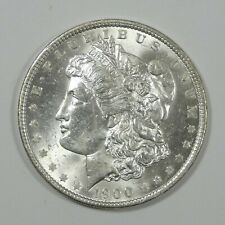 1900-O Morgan Dollar BRILLIANT UNCIRCULATED Silver Dollar
