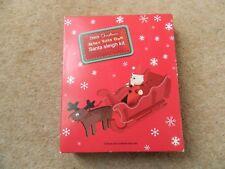 Haga Su Propio Kit De Navidad Santa Trineo-nuevo arte de Navidad