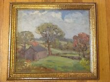 """Arthur Van Zile Bodwell, CT. Listed Artist- 11.5"""" X 14"""" Stamford Area 1940"""