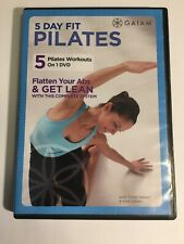 5 Day Fit Pilates (DVD, 2009, 5-Disc Set, Canadian DVD)