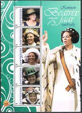 Nederland 2013 3012 serie Beatrix 75 jaar Vel 3 - Royalty