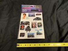 Knight Rider Puffy Stickers Vintage 1982