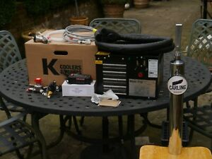 CARLING OR ANY BRAND HOME BAR SET UP BEER COOLER AND PUMP FULL KIT PUB