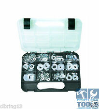 GJWorks 740 Piece Zinc Flat Washer Kit GKA740