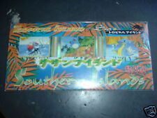 POKEMON Tropical Southern Island Sea trading card pack Booster cards japanese