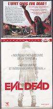 DVD AVEC FOURREAU EVIL DEAD  AVEC Jane Levy, Shiloh Fernandez DE 2013 TBE
