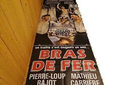 BRAS DE FER ! escrime :  affiche cinema  geante 120x320 ,--
