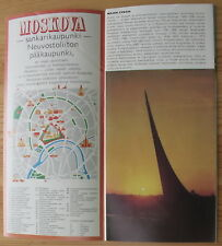 Soviet Booklet INTOURIST USSR SPACE BALLET Propaganda Brochure In Finnish