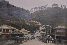 JAPAN,  Nunobiki near Kobe.....Antique  photochrom.... late 19th century