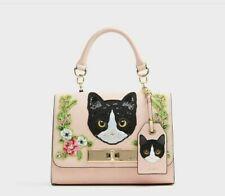 NWT Aldo Corvara Cute embroidered Cat Cross body Bag in Pink