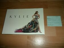 KYLIE MINOGUE - THE V&A EXHIBITION (RARE BOOK OF COSTUMES ETC + SCARCE TICKET)