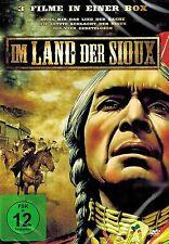 DVD NEU/OVP - Im Land der Sioux - 3 Filme - Spiel mir das Lied der Rache u.a.