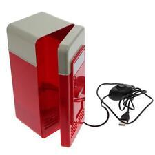 Mini USB Red Refrigerator Fridge Cooler/Warmer Car Boat Home Office  Portable