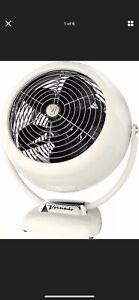 Vornado VFAN Sr. Vintage 3-Speed Air Circulator Fan - Vintage White